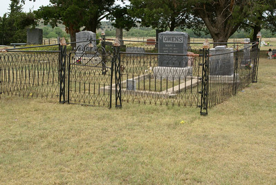 Family Plot at Soldier Creek Cemetery near Belvidere