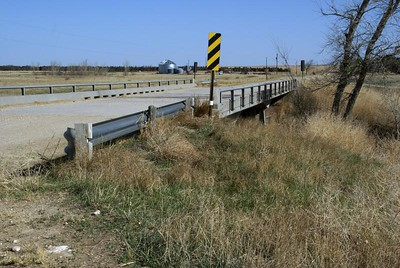 Hackberry Creek bridge - southeast Lane County