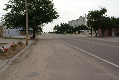 View of Healy along K-4 highway