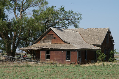 Abandoned house - southeast Meade County