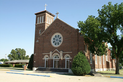 St Anthony's Catholic Church in Fowler