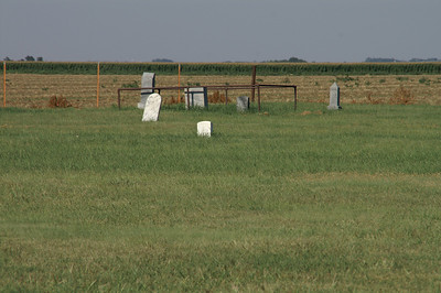 McCauley Cemetery north of Fowler
