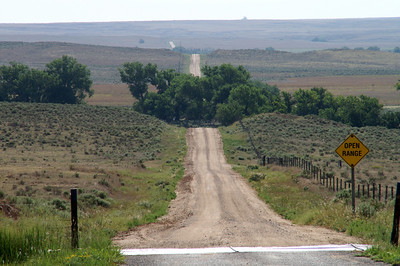 Open Range - southern Meade County