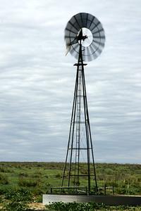 Spinning windmill - far southwest Morton County, KS