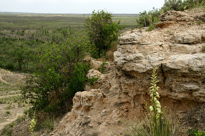 Point of Rocks area along Cimmaron River. In Cimmaron National Grasslands. Well known landmark along Santa Fe Trail.