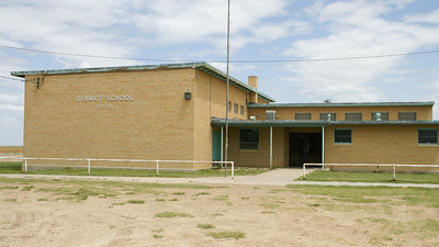 Former Dermot school - northeast Morton County. Site of last operating one-room school in Kansas