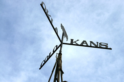 Vanes on corner windmill where CO - OK - KS touch. 8 Miles west of Elkhart.