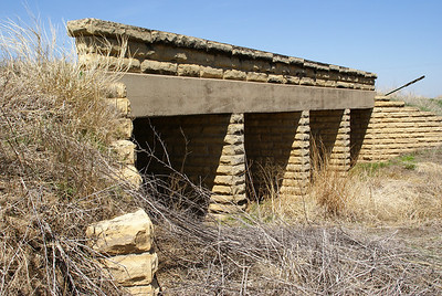 4 channel WPA masonry bridge - southeast Ness County