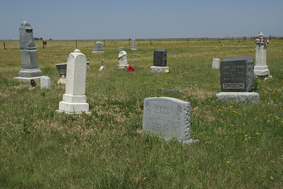 Fairview Cemetery east of Ness City