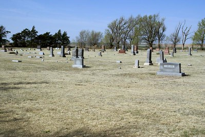 Buda Cemetery - southwest Ness County