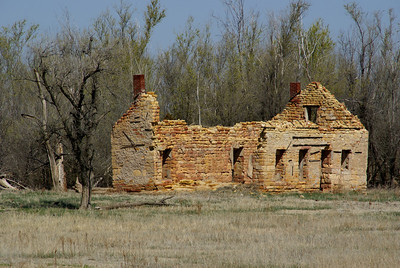 Abandoned St Ignatius Catholic Church - southwest Ness County