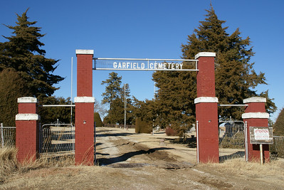 Entrance to Garfield Cemetery