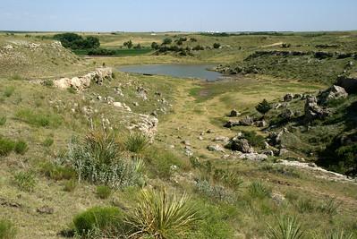 Battle Canyon area near Lake Scott