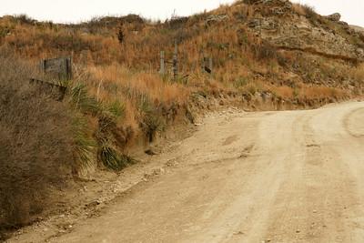 Sand Hills along Juniper Rd near Lake Scott