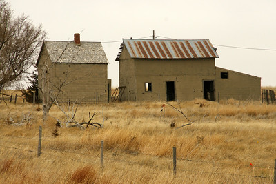 Abandoned buildings in northwest Scott County