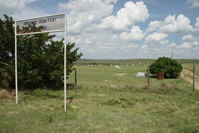 Arkalon pioneer Cemetery near Cimmaron River