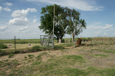 Bixler Cemetery in southeast Seward County