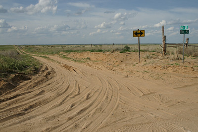 Sandhills in southeast Seward County