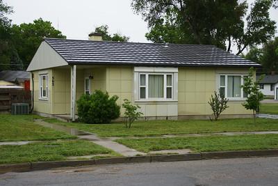 Steel Lustron home in Johnson City