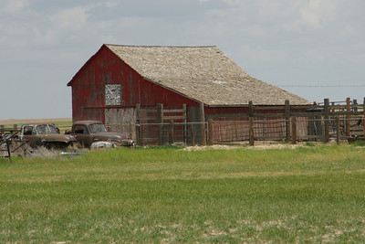 Red Barn - southern Stevens County