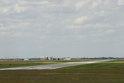Hugoton airport runway