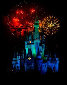 Disney Fireworks 2015