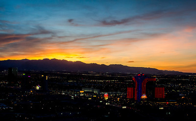 Vegas Sunset