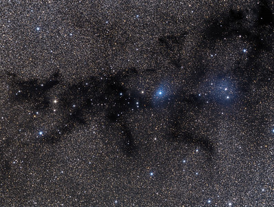 LDN-768/769/773  LBN-133/134  The Black Cat Nebula