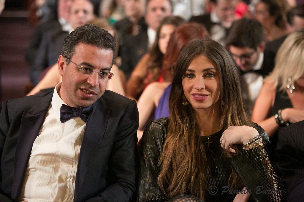 Dr. and Mrs. Nader Saab