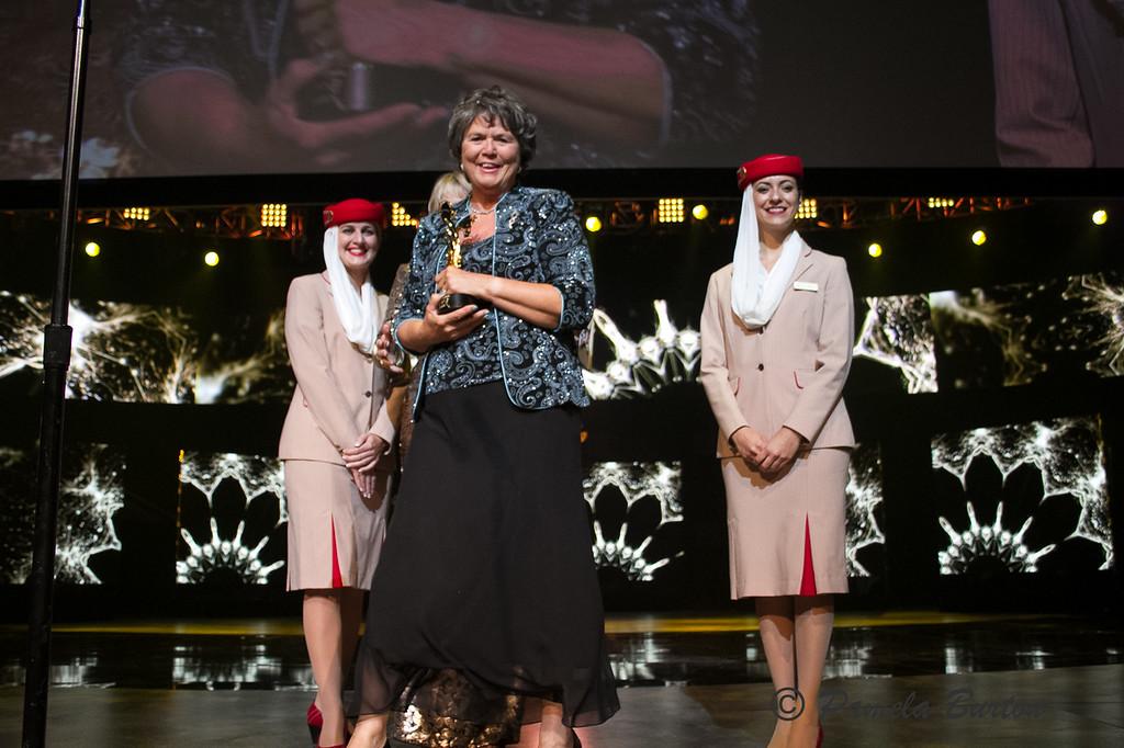 Lynn Ashby wins 8th Darley Best Trainer's Award