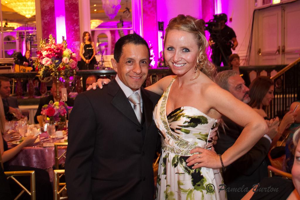 Victor Espinoza and Kelsi Purcell