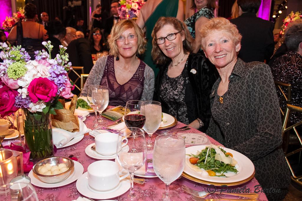 Lynn Bennett, Vicki Gaebe, Beverly Gray