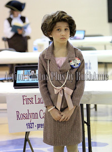 Darlington 3rd grader Reese Zickafoose who was Rosalynn Carter