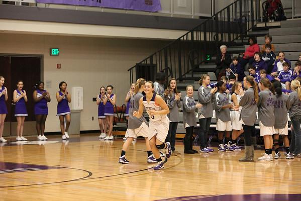 Darlington Middle School vs Model Middle Championship basketball game
