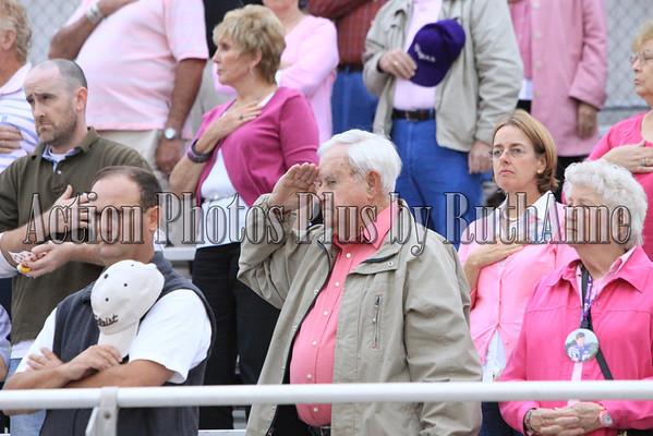 Darlington Pink Out Football Game
