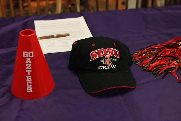 Senior Signing Jade Serroon to SanDiego State