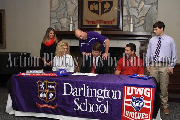 Darlington Sports Signing