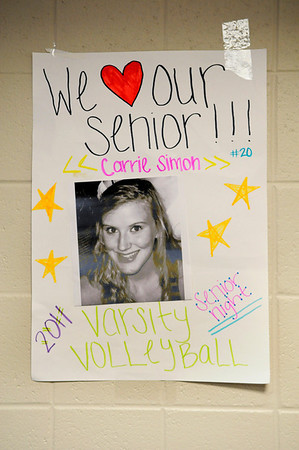 Darlington Senior Night Volleyball