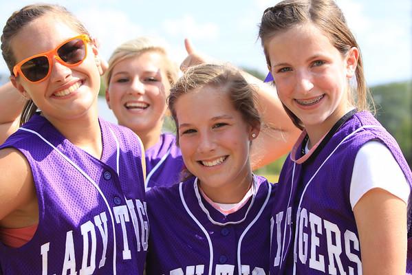 Darlington Middle School softball game 2011