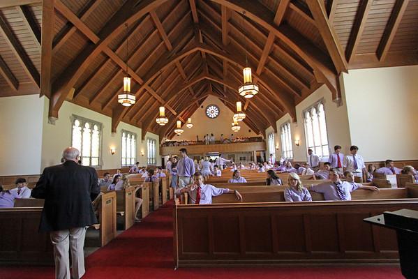 DS Chapel Upper School Officer Installation Ceremony