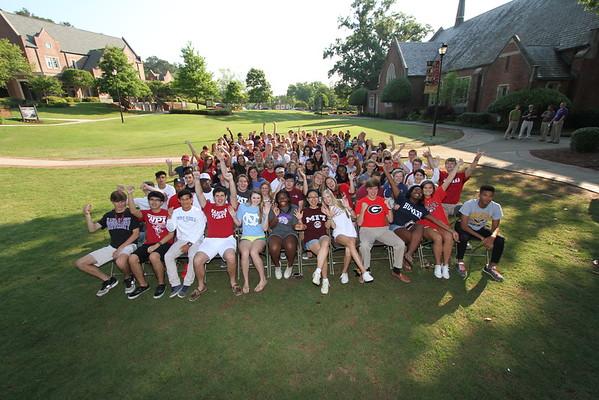 Graduation Rehearsal Group pic 8 May 2015