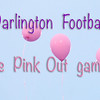 Darlington vs Model PINK OUT Game of the Week Oct2015