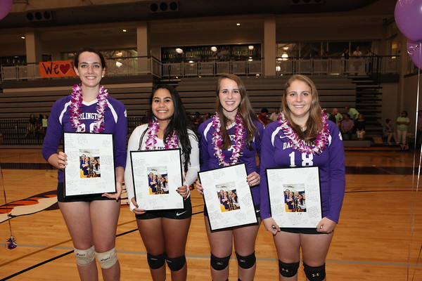 Volleyball Senior Night 2015