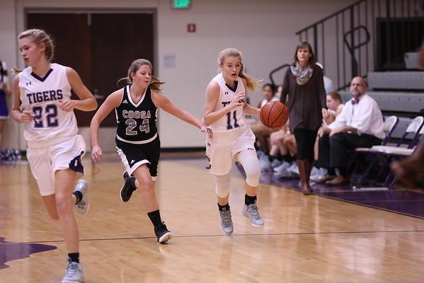 DMS Girls Basketball Game 2016