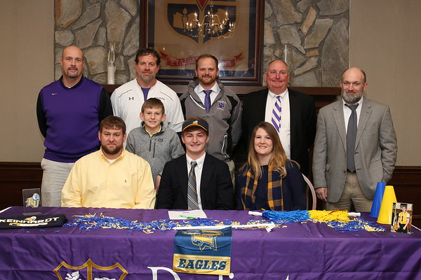 DS senior Mason Tant signs to play football with Reinhardt