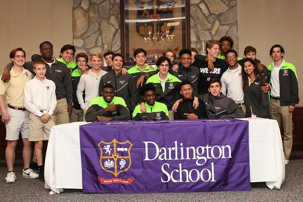 Darlington Soccer Academy College Signing 2017
