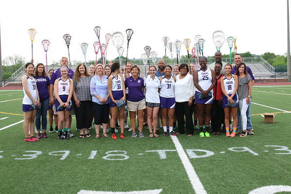 Lacrosse Girls Senior Night 2017