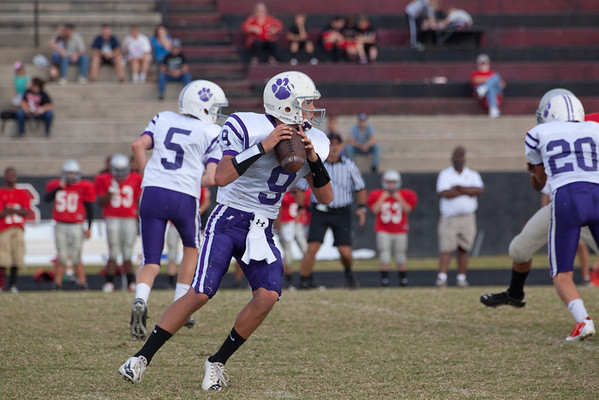 Darlington Middle School Football vs Cedartown Oct 2011