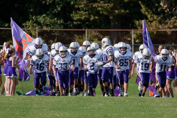Darlington Middle School Football vs Coosa Sept 2011