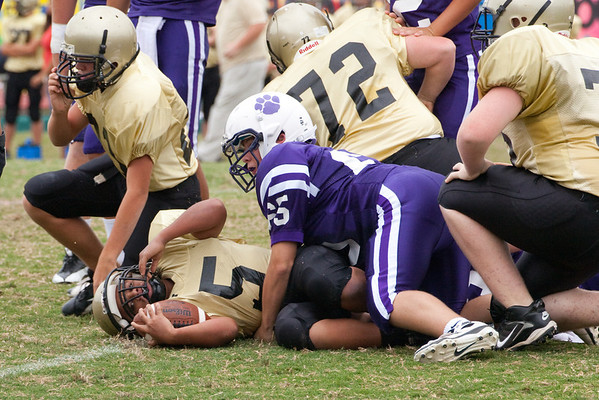 Darlington Middle School Football vs Pepperell Sept 2011